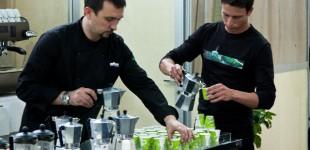 Smagsworkshop - Lavazza kaffespecialisterne forbereder smagsprøver